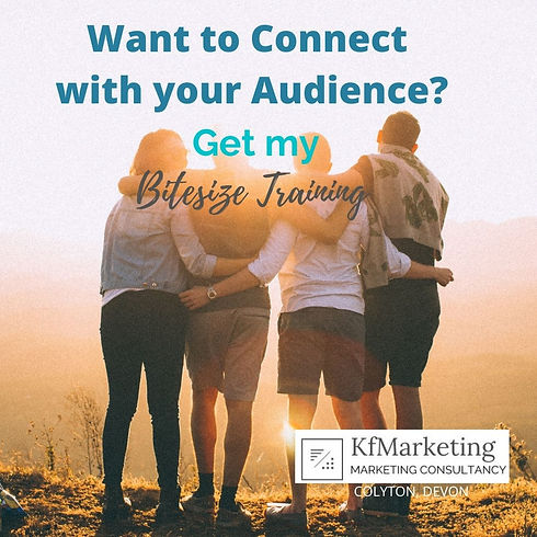 Connect with your Audience