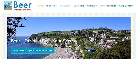 Beervilliage.co.uk website