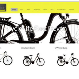 CycleLife East Devon website & socia media