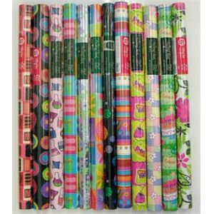 Just for Fun Gift Wrap for Each Gift Box or Baker's Tray