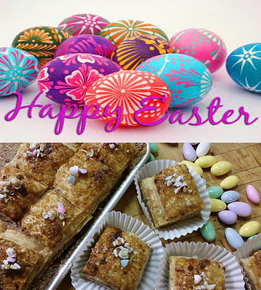 Happy Easter - 4 pc Box; min. order 4 boxes