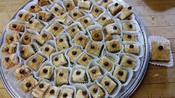 Walnut and Semi-sweet Chocolate Chips Party Tray