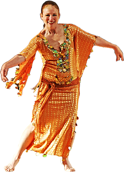 Chef Sausan the Dancer and Teacher