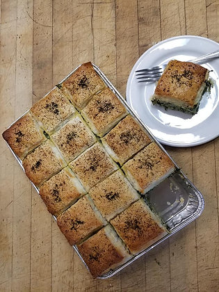 Spinach Pie with FETA Cheese