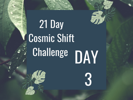 Cosmic Shift Challenge: Day 3