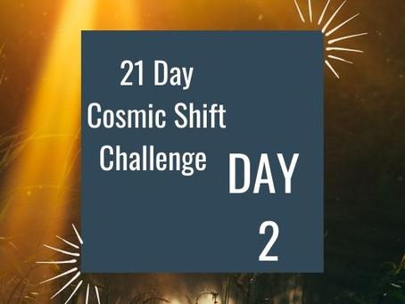 Cosmic Shift Challenge: Day 2