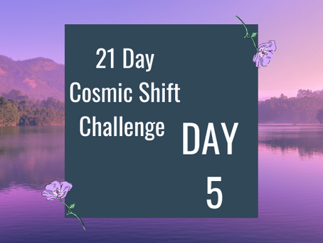 Cosmic Shift Challenge: Day 5
