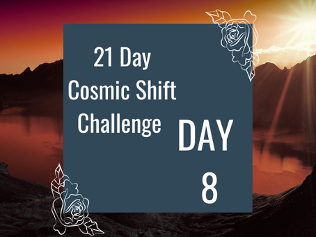 Cosmic Shift Challenge: Day 8