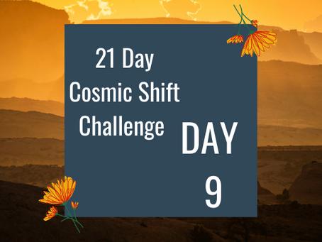 Cosmic Shift Challenge: Day 9