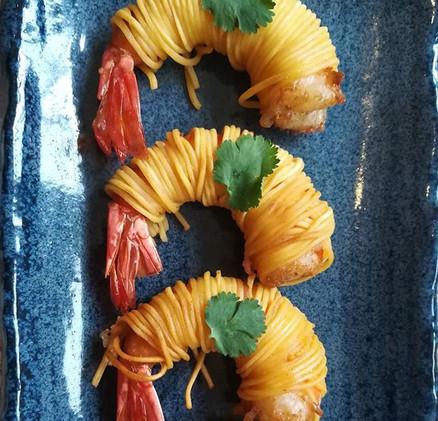 Gung Sarong #thaifood #Gungsarong #canap