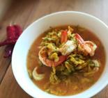 Gaeng som dok care (southern Thai sour c