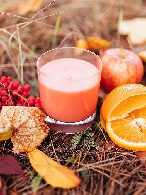 Cranberry orange loma candle
