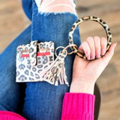 Cheetah Keychain Wallet