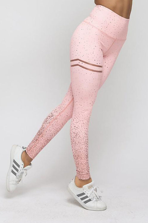 Baby Pink High Wasted Leggings