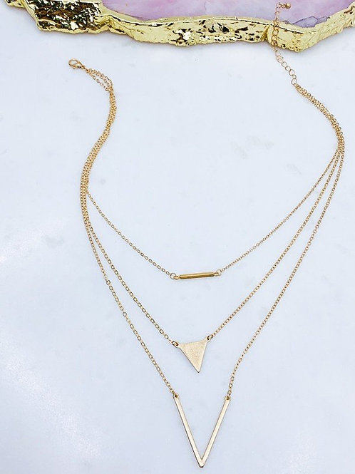 Layered Gold Necklace