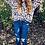 Thumbnail: Leapard print oversized shirt