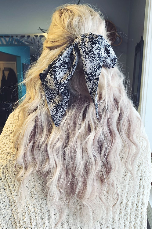 Long hair scarf