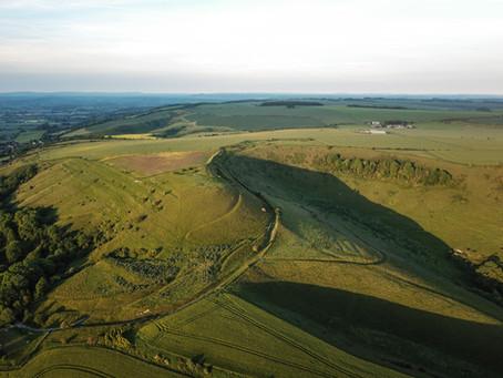 Edington Hill, Luccombe, Combe and Longcombe Bottom