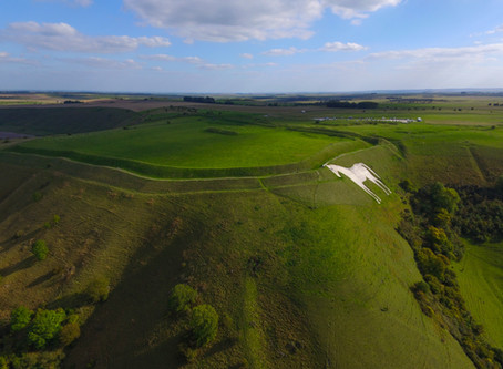 Westbury White Horse and Bratton Camp