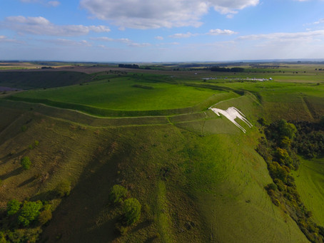 Westbury White Horse and Bratton Camp