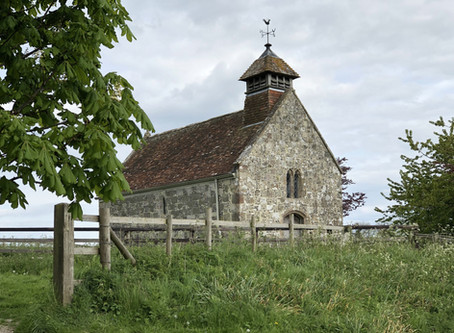 Fifield Bavant and the smallest Church in Wiltshire