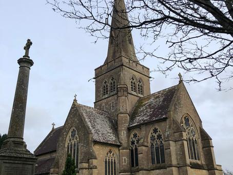 Sutton Veny, St John's Church and the Spanish Flu