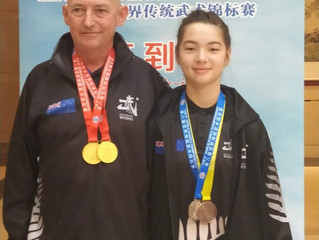 Our team won Gold medals in The 8th World Kung Fu Championship