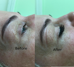 Lash before after 2