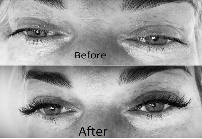 Lash before after 1
