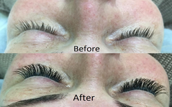 Lash before after 3