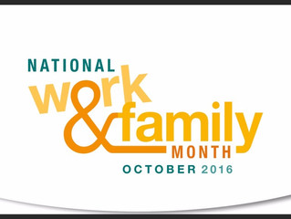 October is National Work & Family Month