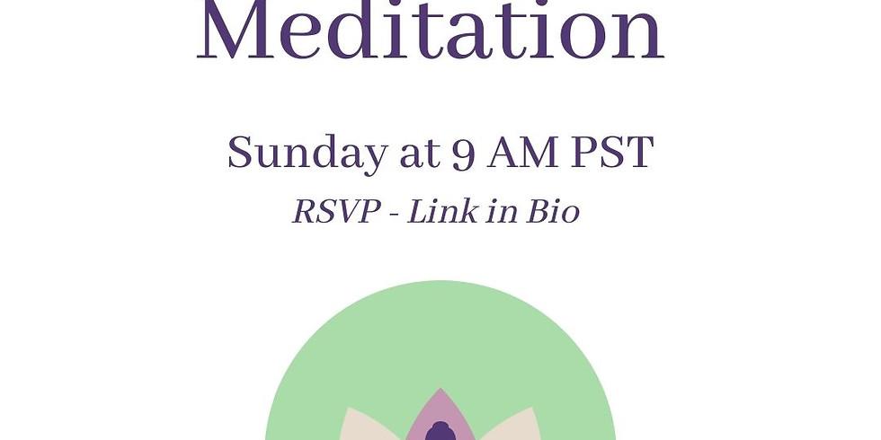 Community Meditation  - Weekly Event