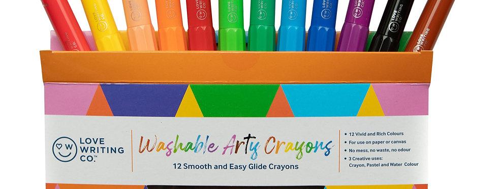Washable Arty Crayons
