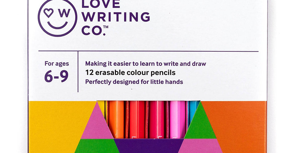 Love Writing Co. Colouring Pencils (6-9 years)