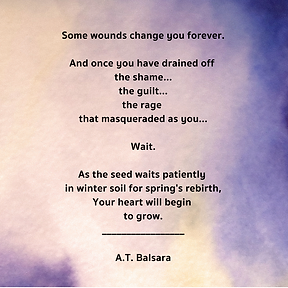 Seeds in Winter poem by Andrea