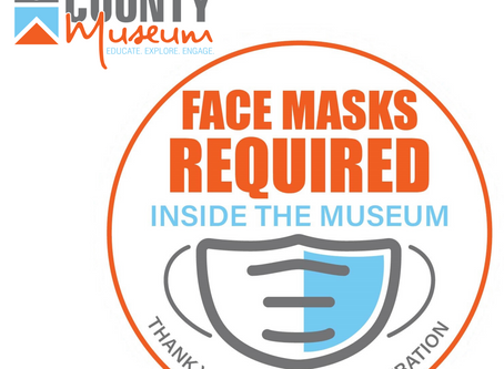 Museum Announces Face Mask Policy