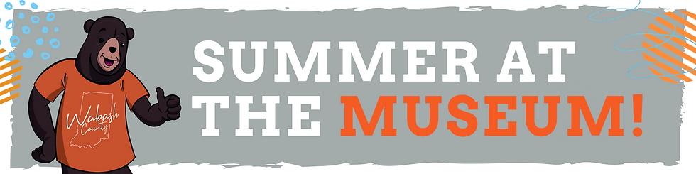 Google form header summer at the museum.