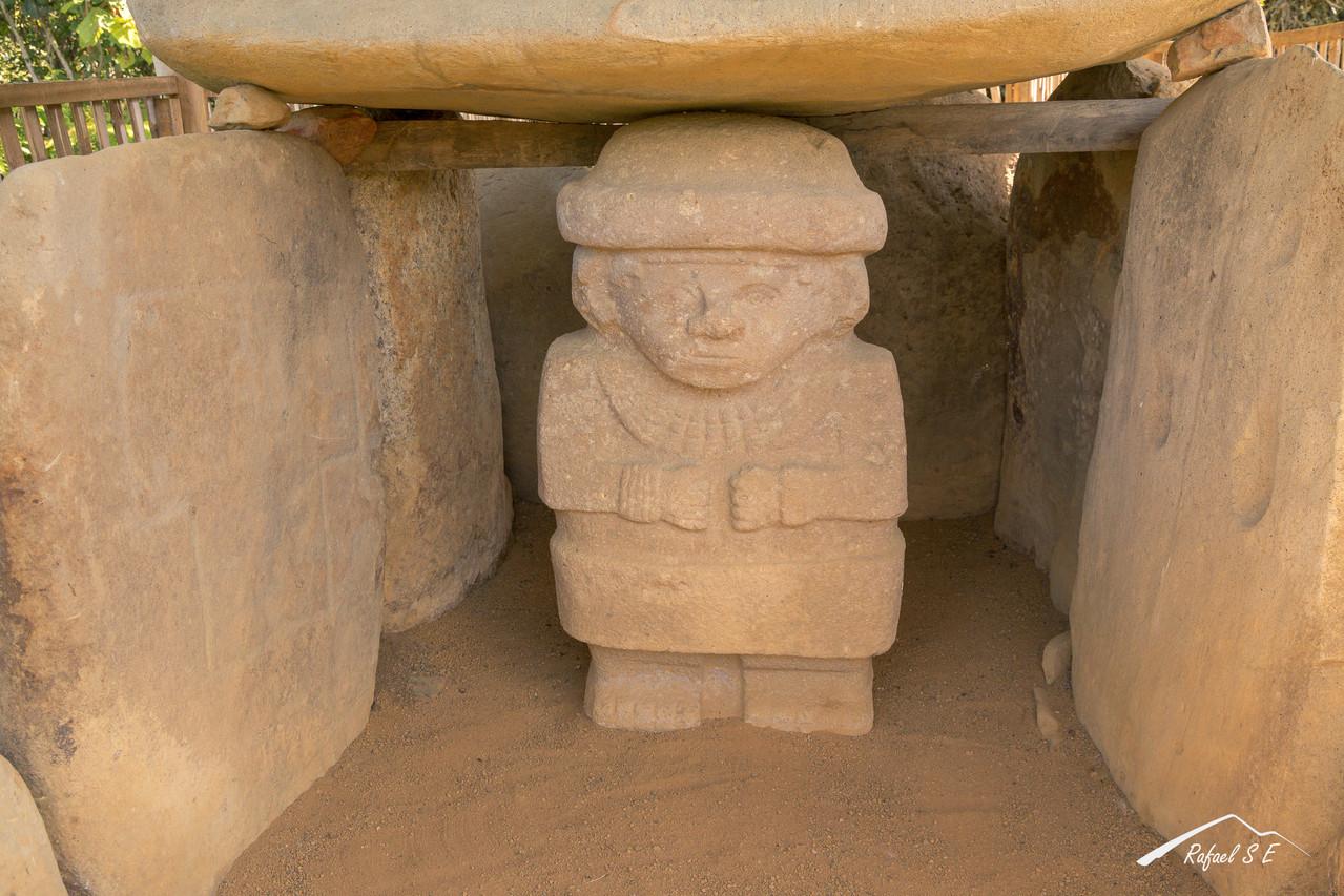 Zona arqueológica de San Agustín
