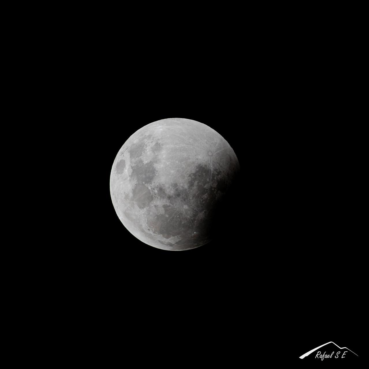 Etapas de la luna en el eclipse