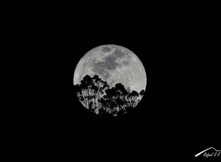 Como fotografiar la luna desde tu ventana