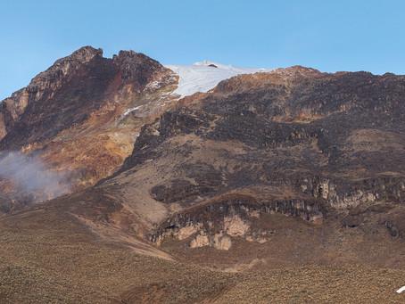 Travesía por el Parque de los Nevados – El Volcán Nevado del Tolima
