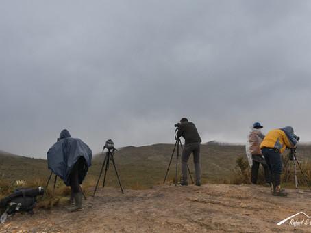 Desarrollo del workshop de fotografía de paisaje