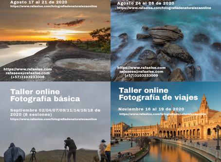 Nuevo ciclo de talleres de fotografía de naturaleza y básica
