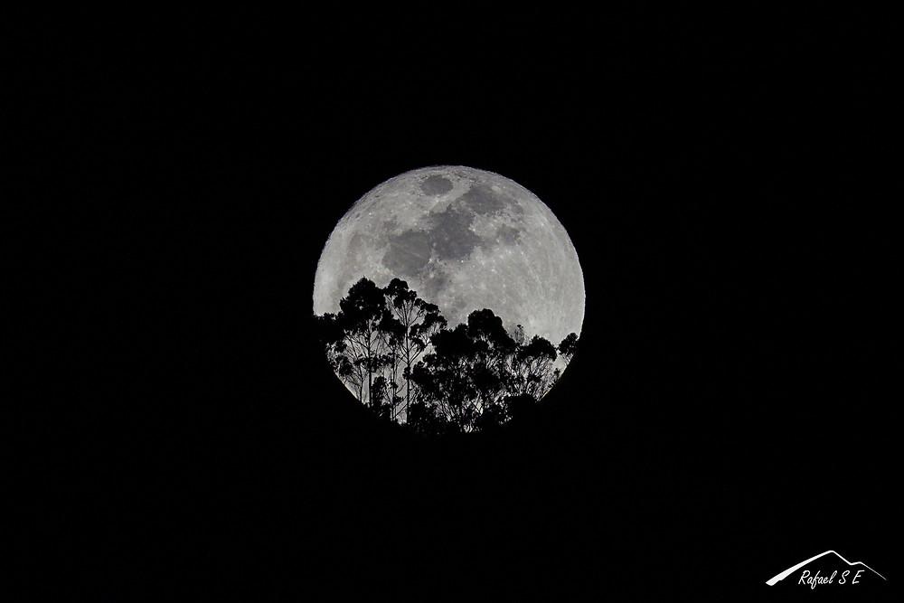 Superluna, diciembre 03 de 2017. RSE