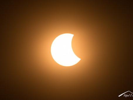¿Cómo fotografiar un eclipse solar?, consejos y recomendaciones
