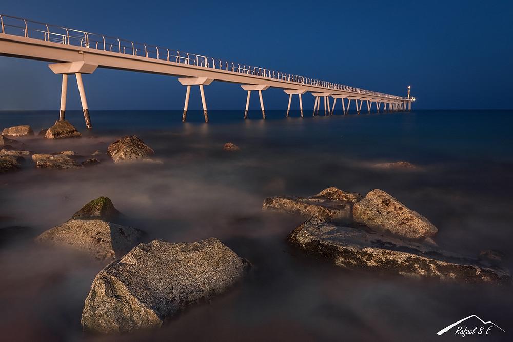 Puente del petróleo, Badalona