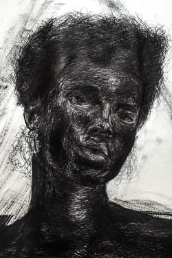 _ Black as color 3 '' - 100 x 70 CM