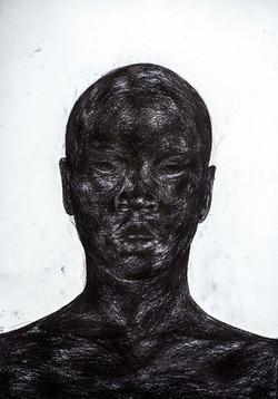 _ Black as color 1 '' - 100x70 CM