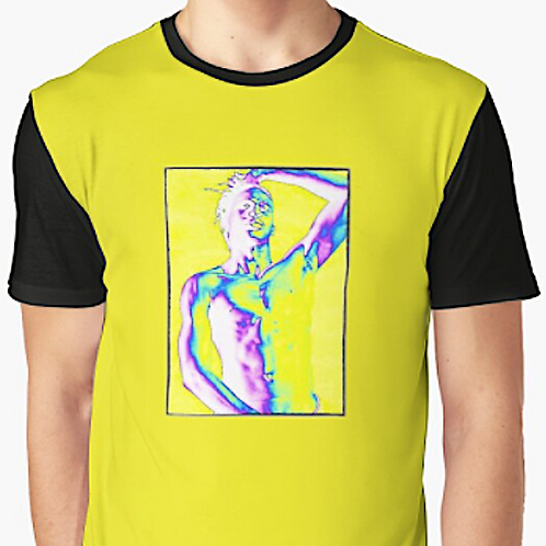'Born To Exist' Art Graphic Graphic T-Shirt