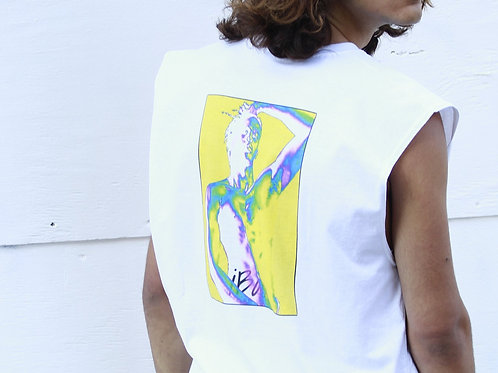 'Born to Exist' Art Print Muscle Tank